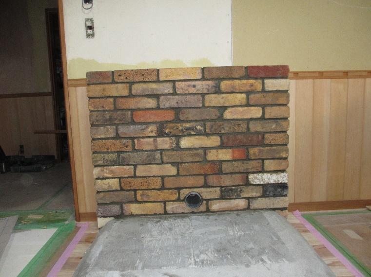 素敵な暖炉の有る部屋作り 16