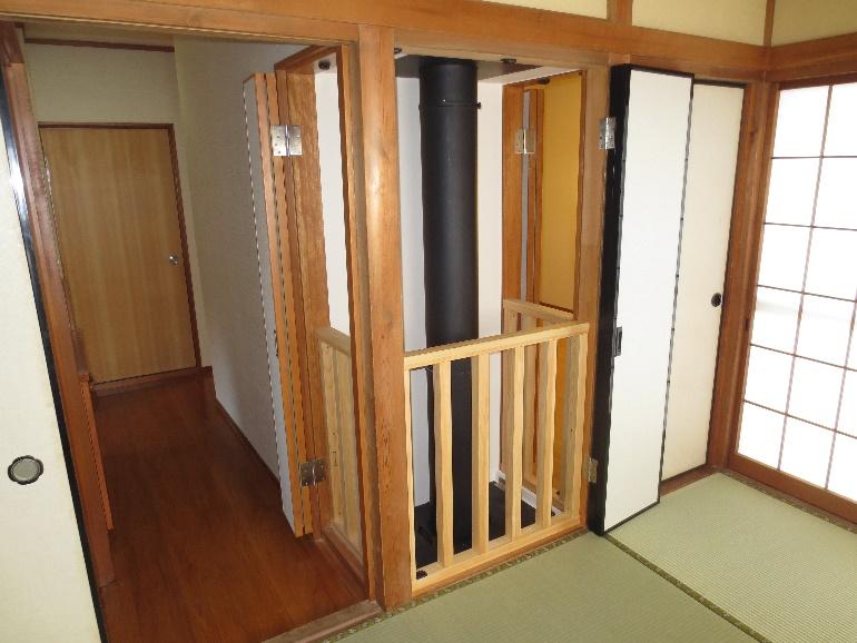 素敵な暖炉の有る部屋作り 21